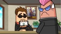 搞笑吃鸡动画:大魔王找来两活宝对付外星人,这两货是来送人头的