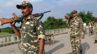 发生口角后,印度边防部队一名士兵枪杀上司后自尽