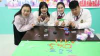 """学霸王小九校园剧:同学们比赛用粘土做""""AUG"""",没想同学们做的真好看,结果谁赢了"""