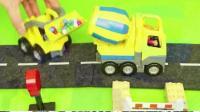 最新挖掘机视频表演 大卡车运输挖土机 挖机工作搅拌车