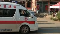 【 街拍】救护车用消防调开道出警