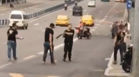 重庆闹市持械打斗 10多人被抓