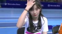 山东美女跳高!网友:比赛这是什么级别的跳高比赛,这也太轻松了吧