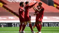 利物浦主场1-1伯恩利 跨赛季24连胜终结 萨拉赫哑火