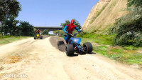 蜘蛛侠:陆军与街头牛仔比赛