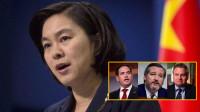 反击!华春莹宣布对等制裁美国一机构及4名个人含3名反华议员