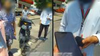 女孩高考当天骑车撞上外卖小哥,交警到场上演暖心一幕