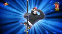妖怪传奇_动画解说_03_醒来的小猴精灵