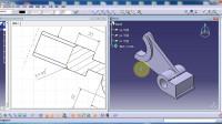 CATIA视频教程.CaTICs网络赛3D建模实例(3D08-L04)讲解(下).174