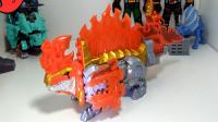 383模玩分享骑士龙战队dx火山龙