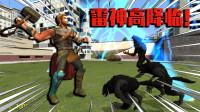 SCP爆笑动画:作死高化身雷神!大战迷失森林狼人,能打败吗?