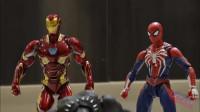 蜘蛛侠:黑豹跑过来了