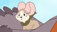 治愈动漫:小老鼠救下一只受伤的小鸟,没想小鸟把翅膀借给了它