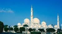 谢赫扎伊德大清真寺 阿联酋最大的清真寺 阿布扎比一游【原创】