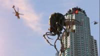 五十米高的巨型蜘蛛肆无忌惮,在高楼上产卵,差点把城市毁灭!