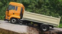 挖掘机视频433大卡车运输挖土机+挖机工作+工程车