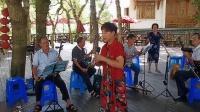 黄村夫人山戏曲演唱活动,鸥江群曾巧群演唱三请梨花中的,《见录台》,南明山发布,八月一日。