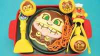 面包超人玩具:会唱歌的烧烤机