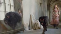女孩养了一只黑狗,黑狗一照镜子就会变成怪兽,她却一点也不害怕