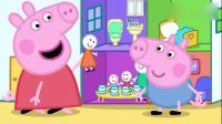 小猪佩奇:乔治不听姐姐话,姐姐威胁他,不听话不带他玩