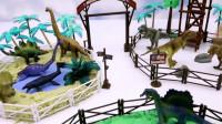 搭建侏罗纪公园,恐龙世界游乐园