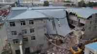 哈尔滨一仓库坍塌被困9人全部搜出,无人幸存