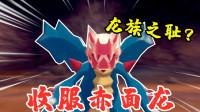 宝可梦剑盾:它的翅膀不是用来飞的,收服龙族之耻赤面龙
