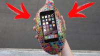 水宝宝能保手机从5楼扔下不碎吗?手一松,结局太意外了!