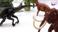 侏罗纪公园小恐龙玩具收藏箱