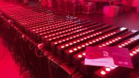 266台18颗10W跑马LED洗墙灯 (佳诺灯光出品)