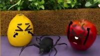 表情动画,准备大战的,可惜被蜘蛛吓跑了