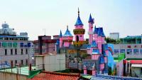 松月洞童话村 就在仁川中华街的边上 深秋时节游韩国【原创】