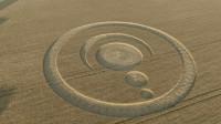 神秘的麦田怪圈之谜,外星人留在地球的记号?