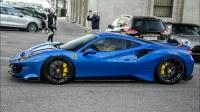 苏黎世街头实拍 2020 法拉利 Ferrari 488 Pista