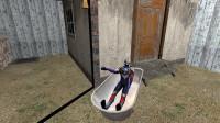 欧布奥特曼为什么要搬一个浴缸,来到密室门口啊?