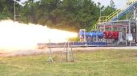 小型火箭助推器测试,别看它个头没多大,喷力可不小