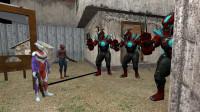 迪迦奥特曼和蜘蛛侠合作能把密室的怪兽消灭吗?