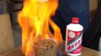 火焰酱油炒饭,原本十块钱的米饭做成吃不起的样子,真的好吃吗!