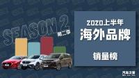 福特上榜!2020上半年海外品牌销量