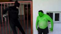 绿巨人:绿巨人VS美国蝙蝠侠
