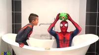 蜘蛛侠:蜘蛛侠和小朋友的游戏