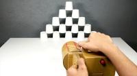 用纸板制作橡皮筋启动装置,这动手能力你服不服?