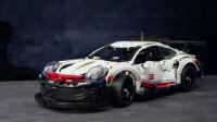 乐高超跑,Porsche 911 RSR赛车,试试快不快