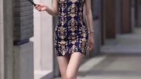 穿旗袍的女生都有一种独特的美,对吗?