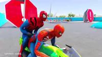 蜘蛛侠:蜘蛛侠与超级英雄赛车
