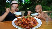 """144买四斤五花肉,做一份川式""""樱桃肉""""肥而不腻,软糯香甜"""
