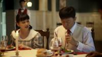 父母爱情:江德福吃西餐,竟用筷子吃牛排,吧唧吧唧真香啊