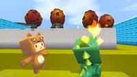 迷你世界:小肥龙抓鱼意外发现爆爆蛋,击杀后获得钻石?赶紧叫熊孩子一起!