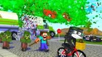 MC动画:怪物学校《生化污染》,凋零骷髅闯大祸了!