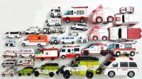 双层巴士牵引车越野车玩具